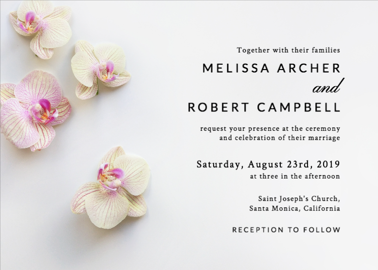 Free Wedding Invitations Templates Design Your Wedding Invitations