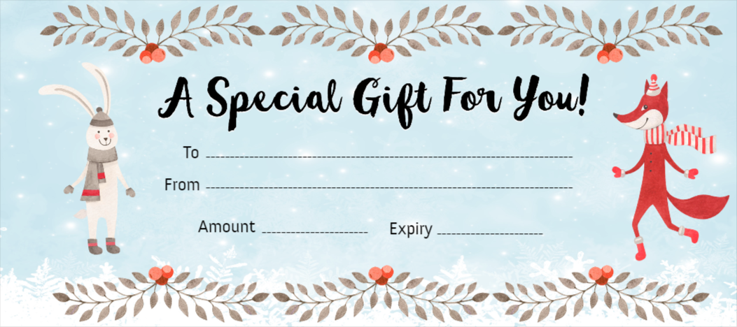 Free Gift Certificates Maker - Design your Gift ...
