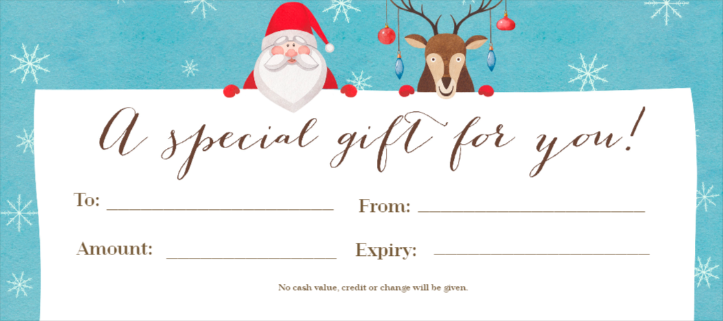 Free Gift Certificates Maker Design Your Gift Certificates From
