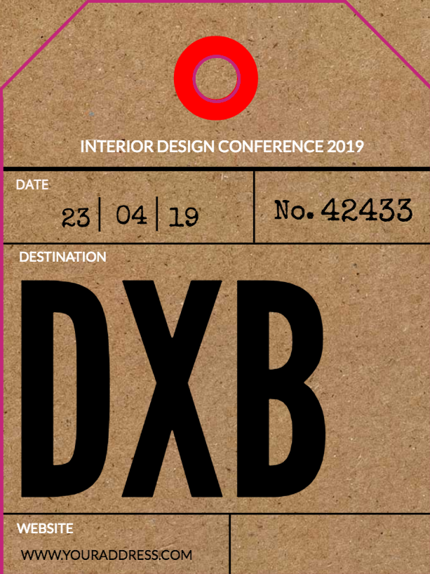 Free Luggage Tags Templates Design Your Luggage Tags From Jukebox - Luggage tag business card template