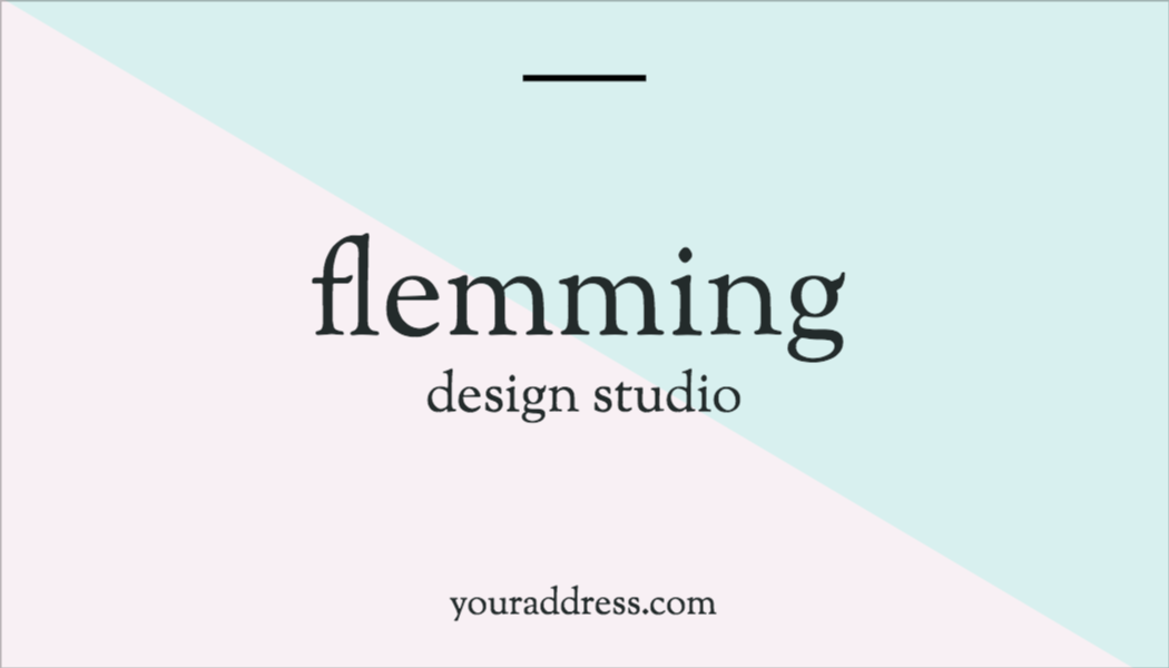 Flemming Design Studio pre-made template