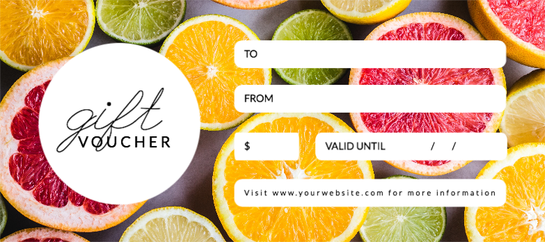 Free Gift Certificate Templates - Design your Gift Certificates from