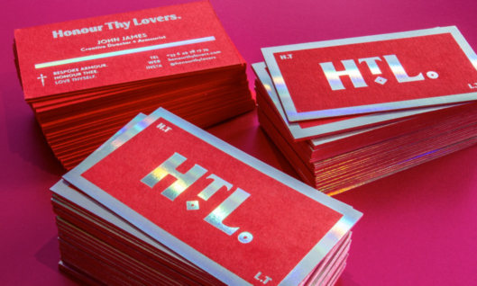 Colorplan business cards order colorplan cards holographic foil on colored business card reheart Image collections