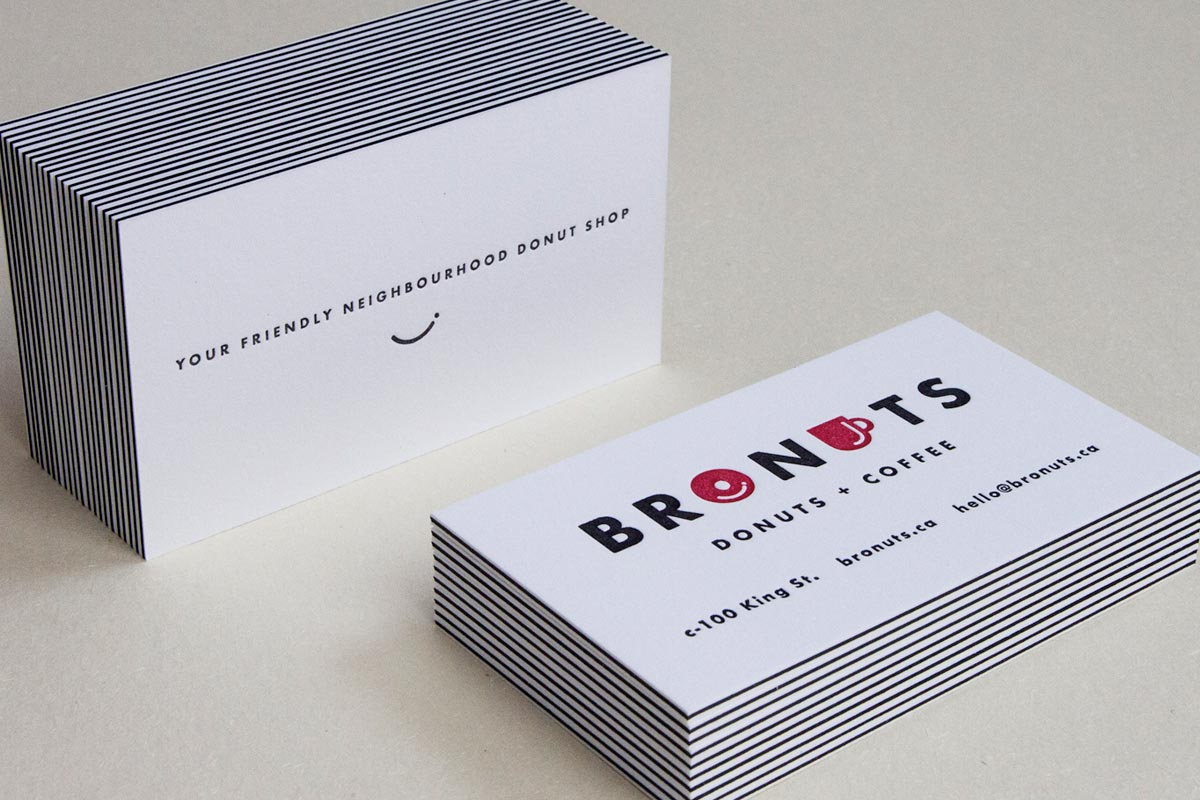 Triplex 3 ply business cards jukebox print bronuts 3ply letterpress business cards reheart Images