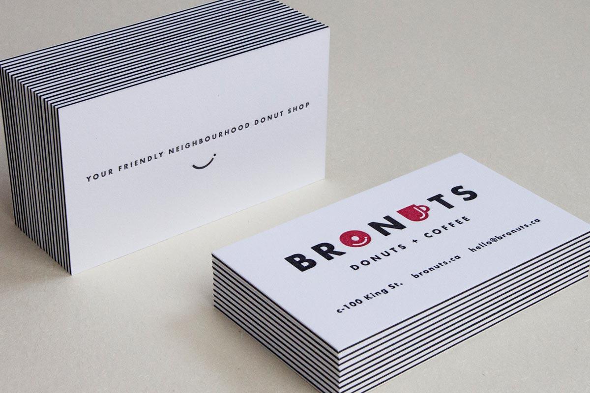 Triplex (3-ply) Business Cards | Jukebox Print
