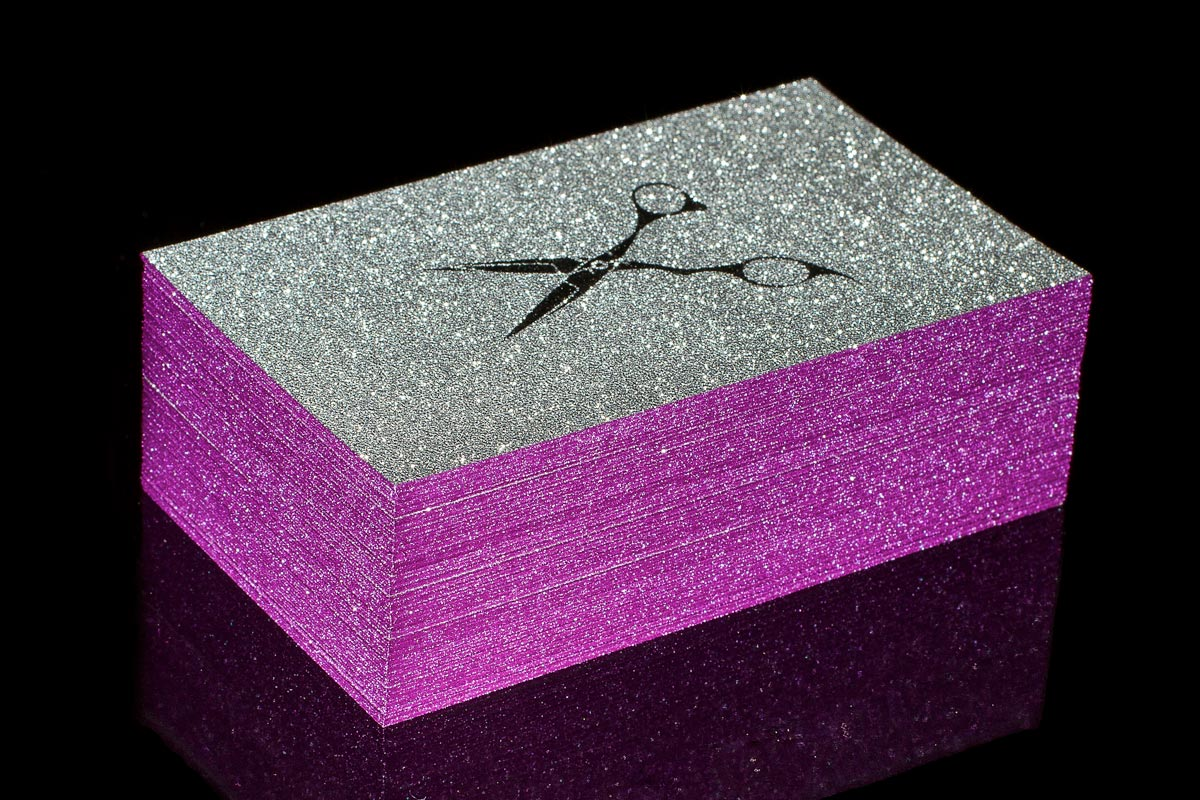 Sparkle Business Cards | Jukebox Print
