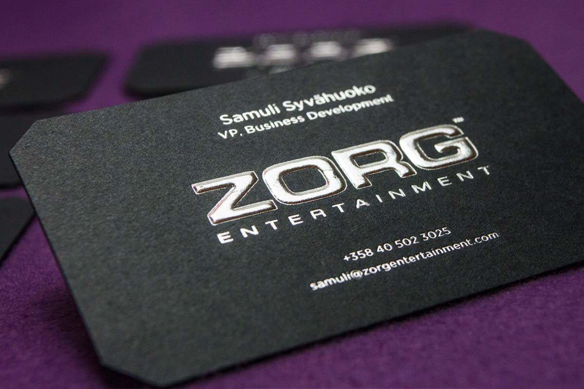 Shaped business cards jukebox print zorg entertainment reheart Choice Image