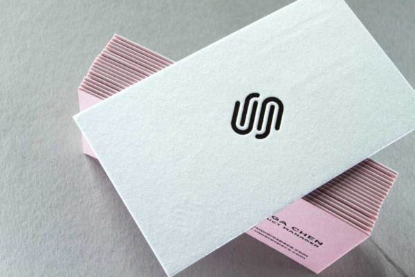 Letterpress business cards with embossing and foil letterpress business cards reheart Gallery