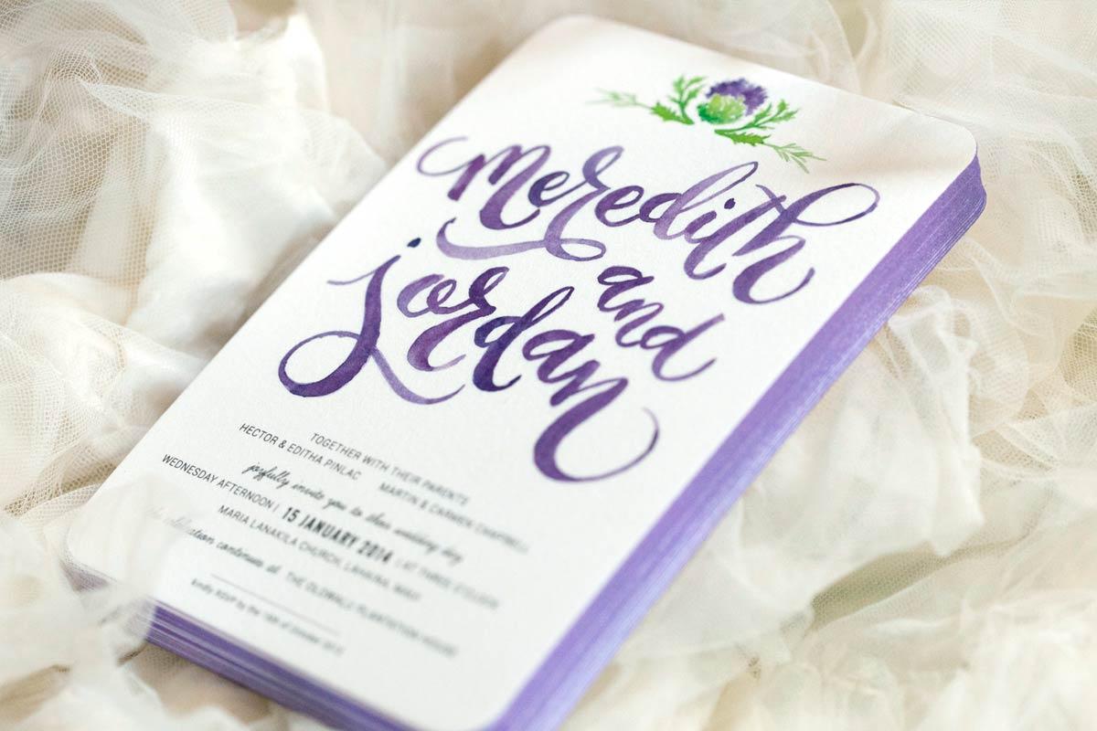 Custom Printed Wedding Invitations | Jukebox