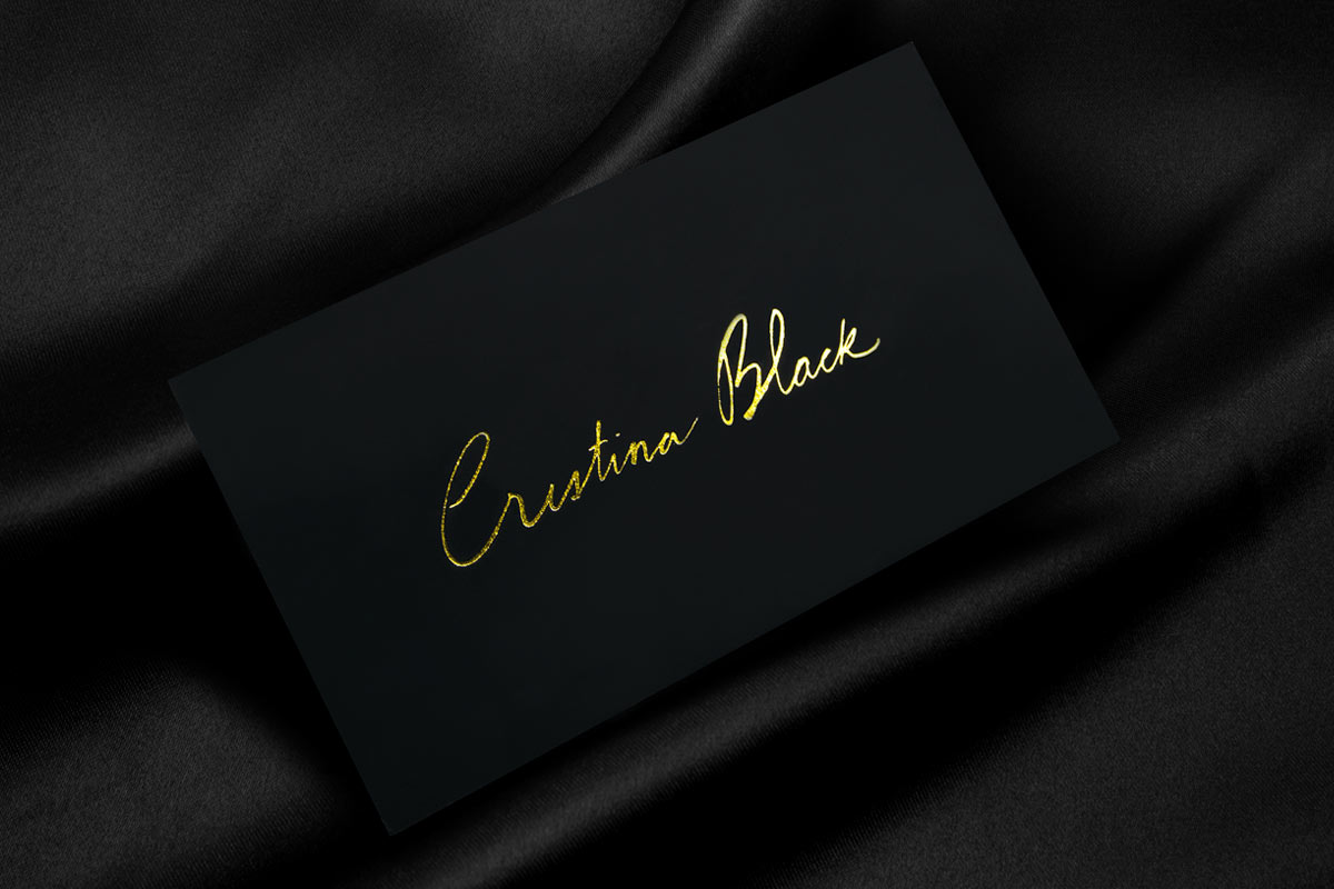 Premium Black Business Cards | Jukebox Print
