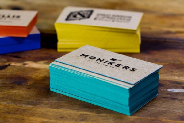 Colored edge business cards jukebox print monikers business cards with colorful painted edges colourmoves