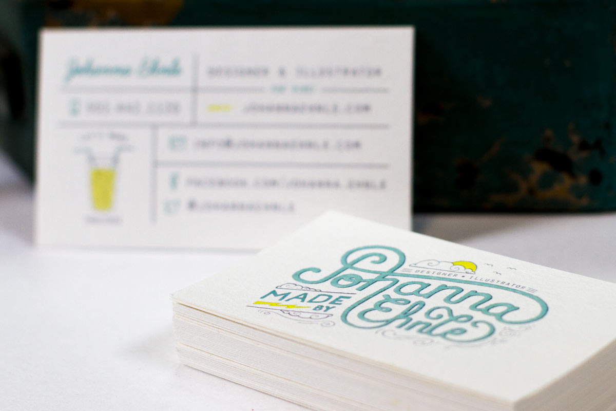 Bamboo Business Cards | Jukebox Print