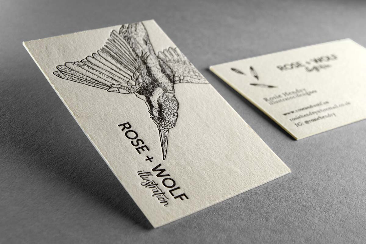 Famous Illustration Business Cards Collection - Business Card Ideas ...