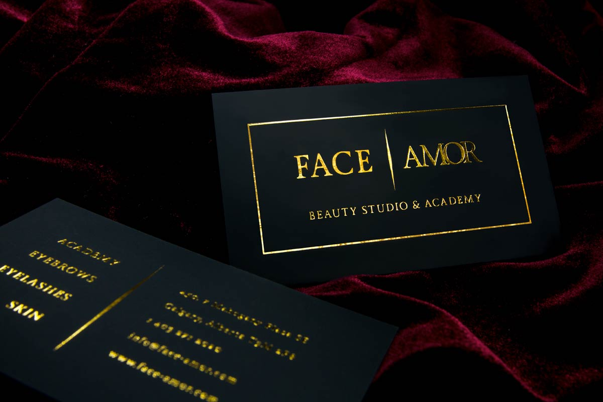 Black Business Cards | Black Suede Cards