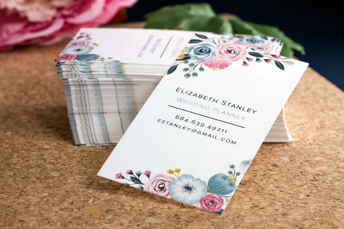 Bamboo Business Cards | Jukebox Print