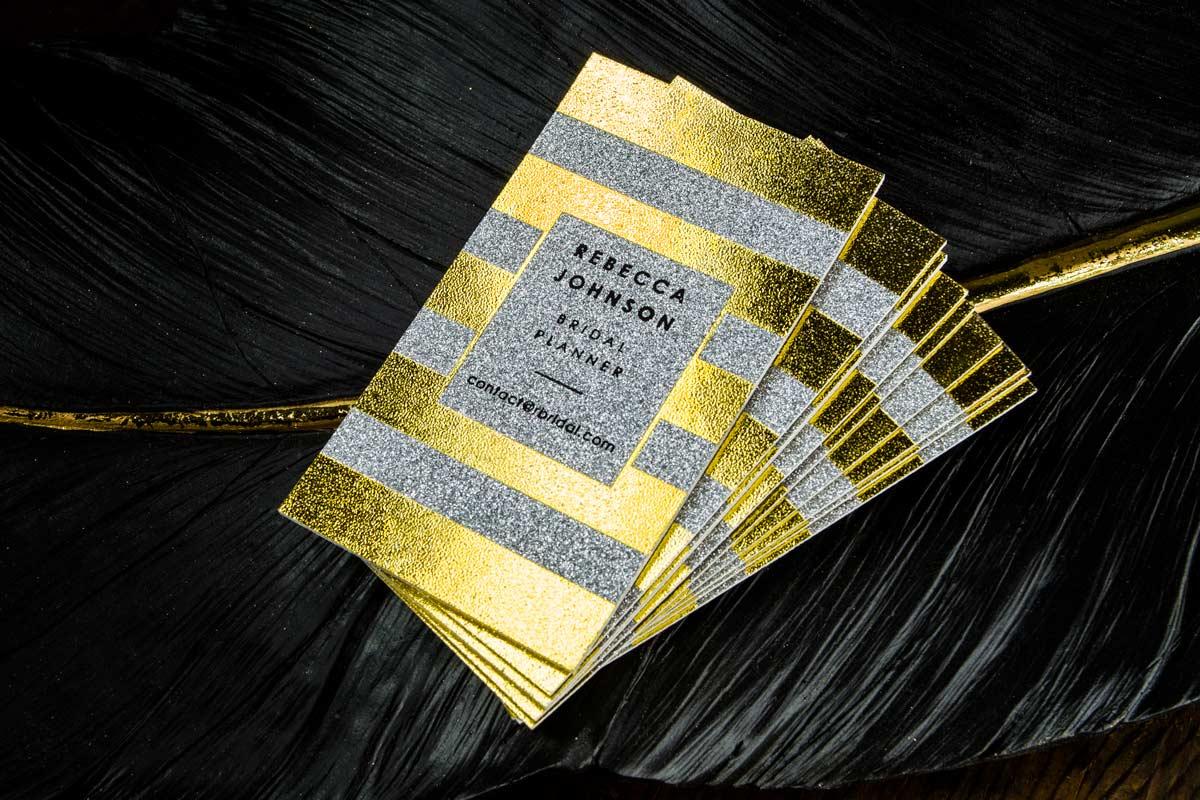 Sparkle Business Cards | Jukebox Print