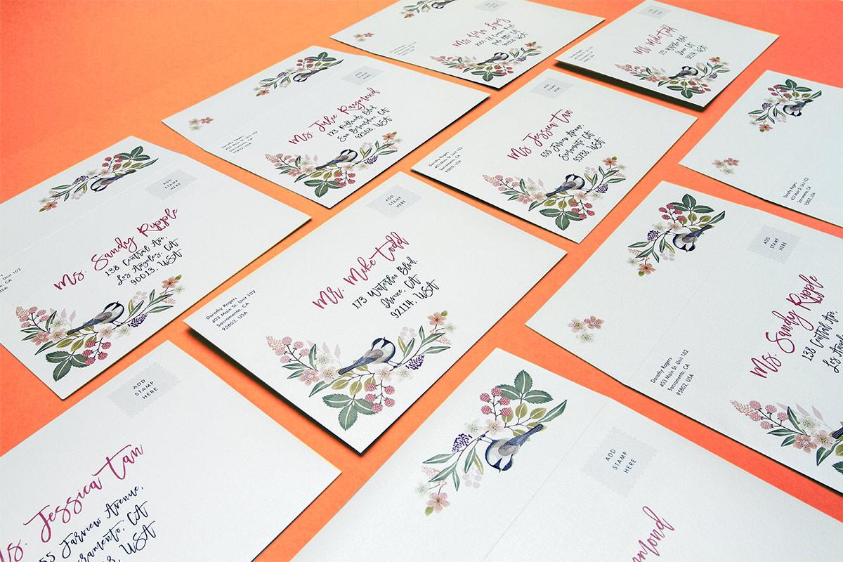 Custom Printed Envelopes Jukebox Print