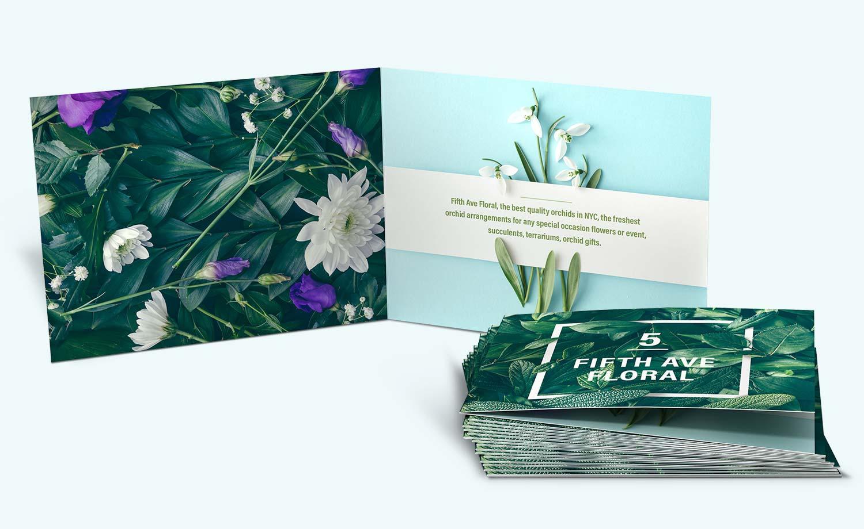 """5.5"""" x 5.5"""" Mini Brochure"""