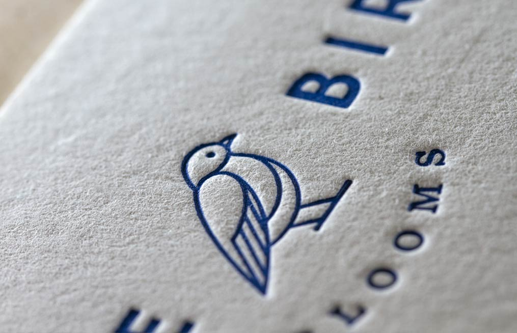 Cotton and letterpress combination