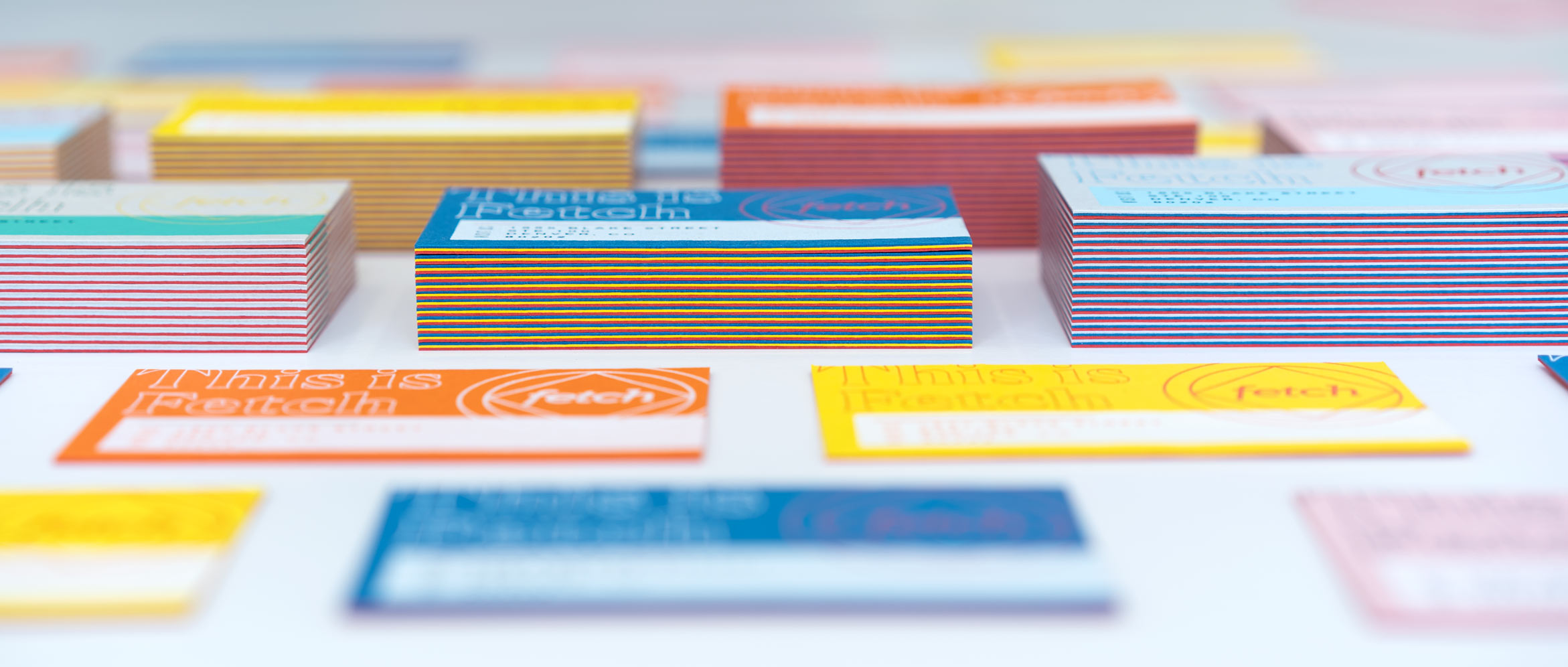 Colorplan Business Cards with Multi Layers