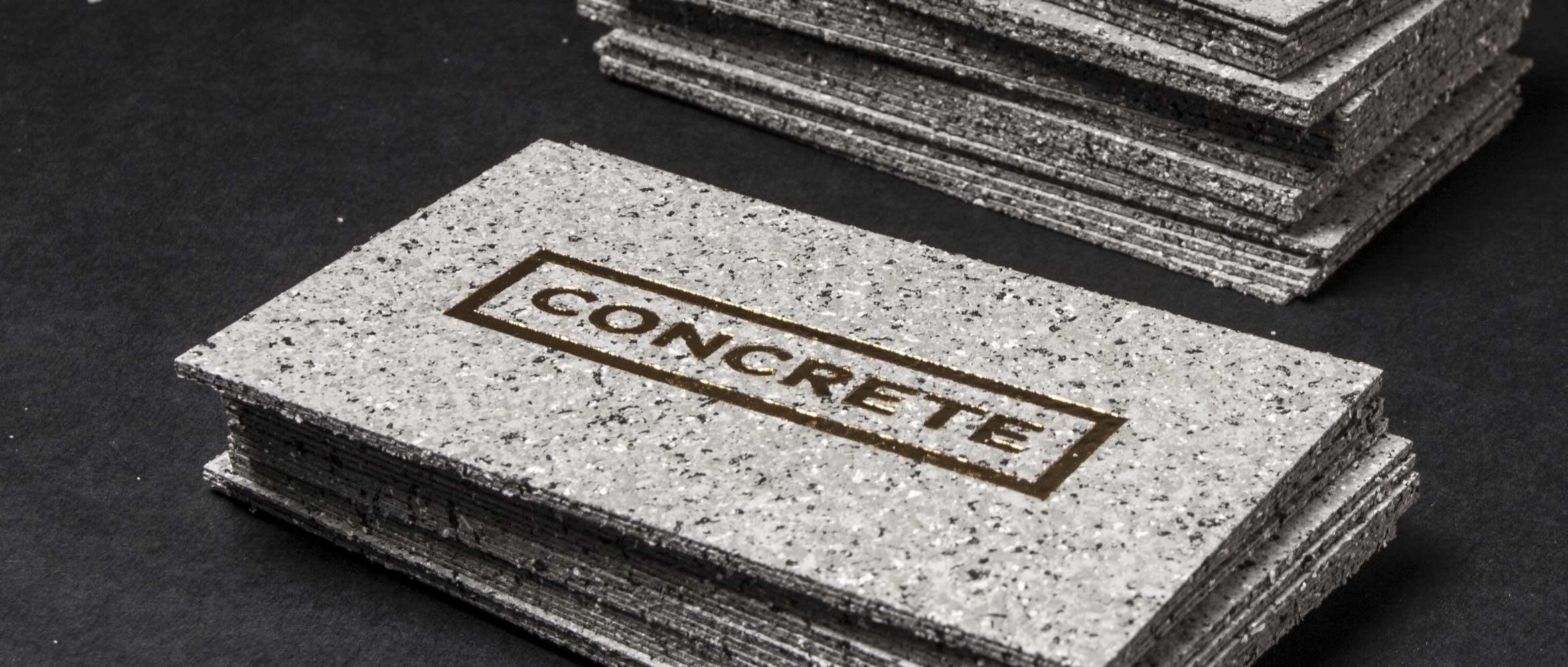 Concrete Business Cards | Jukebox Print