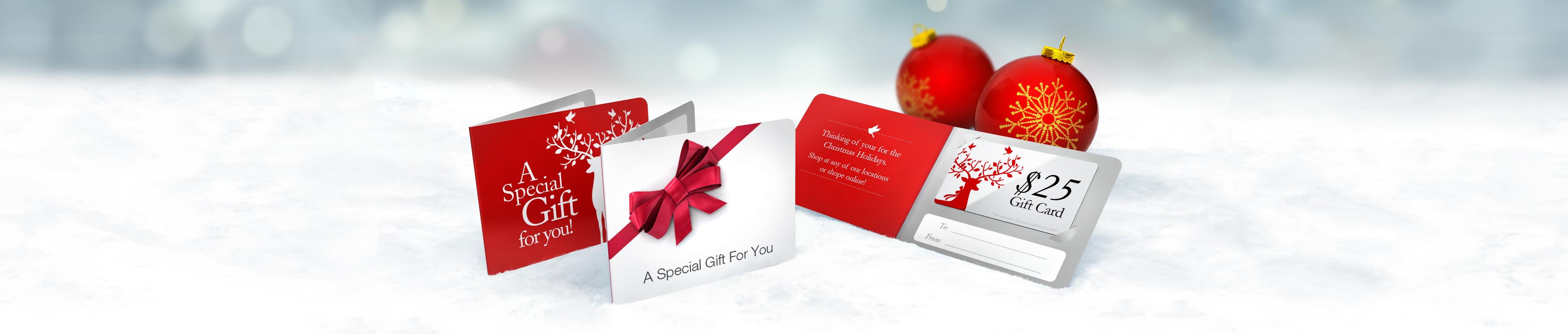 Custom Printed Gift Card Holders | Jukebox Print