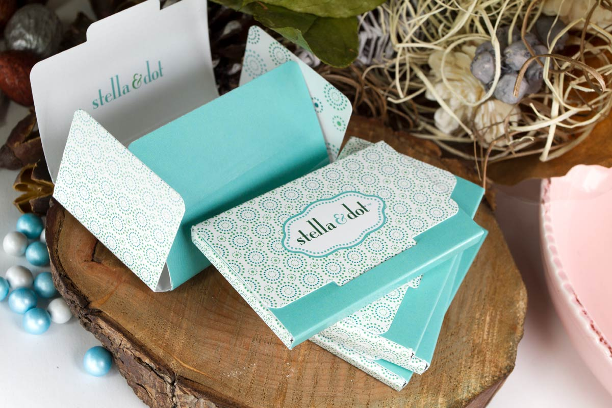 Mini Box Gift Card Holders for Stella and Dot