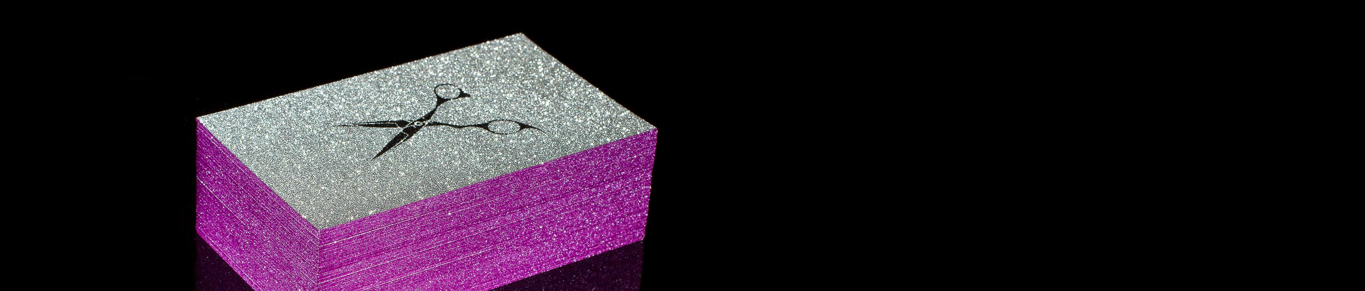 Sparkle business cards jukebox print colourmoves