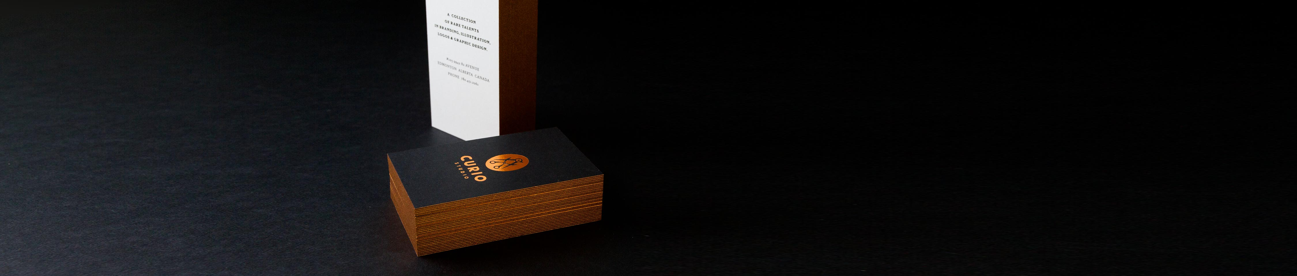 Black Business Cards | Black Suede Cards