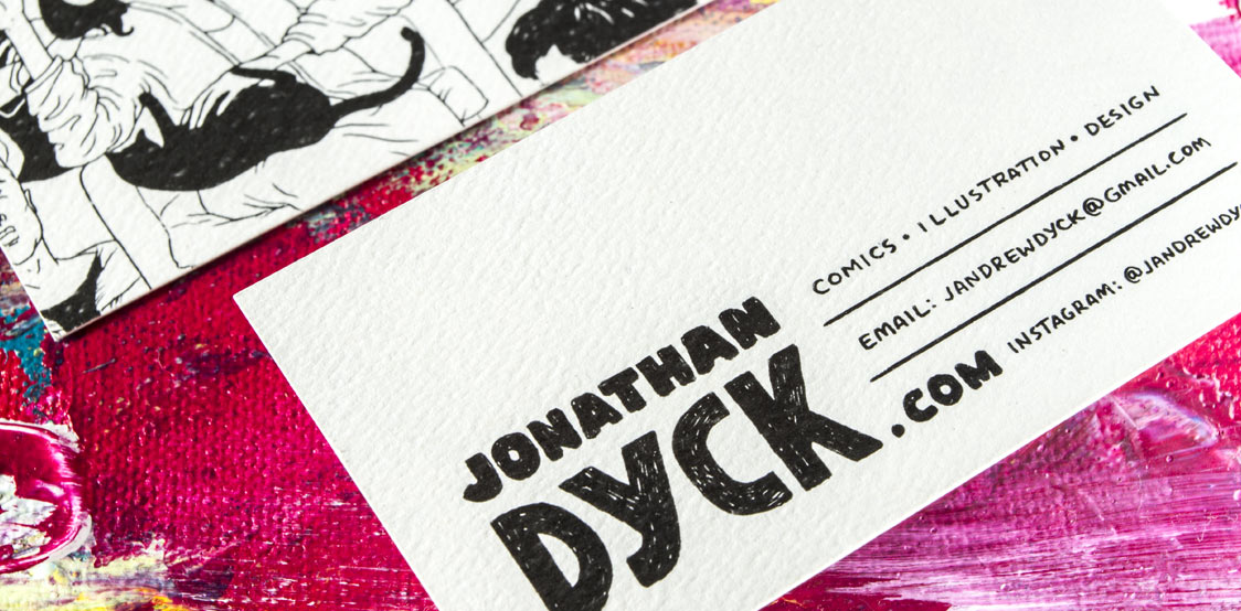 18pt Textured recycled business cards