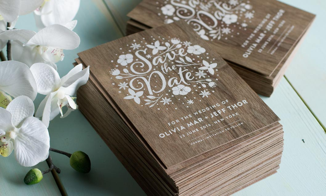 custom printed wedding invitations jukebox