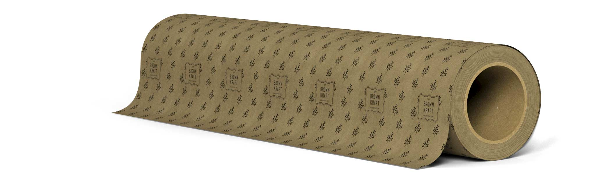 3pt Brown Kraft wrapping paper roll